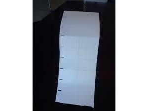 Decal đục lỗ mép giấy tại Hà Nội