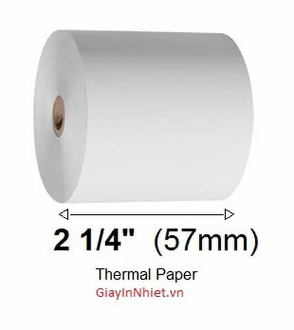 giấy in nhiệt Sazaki K57