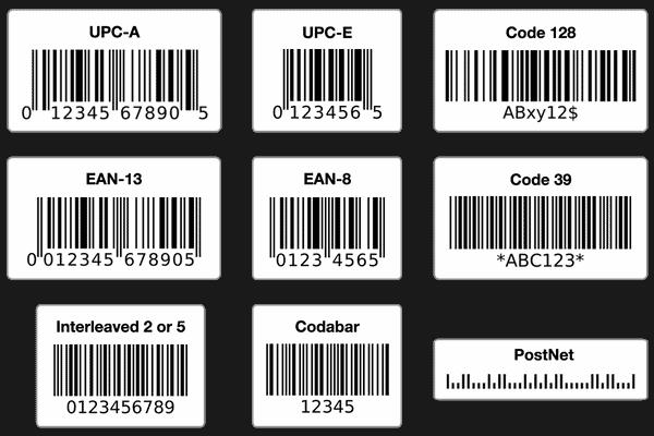 Các loại giấy in mã vạch