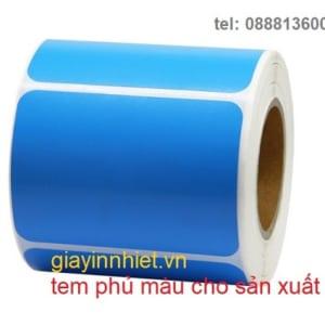 sticker phủ màu - xanh - đỏ - tím - vàng - theo yêu cầu