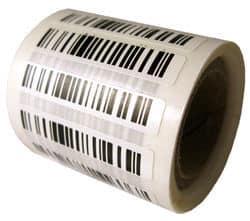 Giấy in mã vạch chất liệu PVC chống xé rách, chống thấm nước