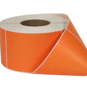 Decal phủ màu cam