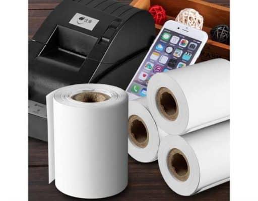 Các loại giấy in nhiệt được ứng dụng trong kinh doanh