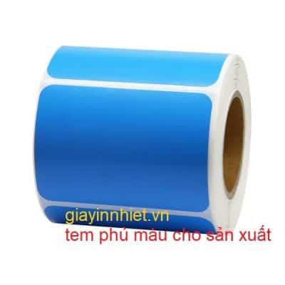 Các kích thước khuyến nghị dùng giấy in tem nhãn quần áo